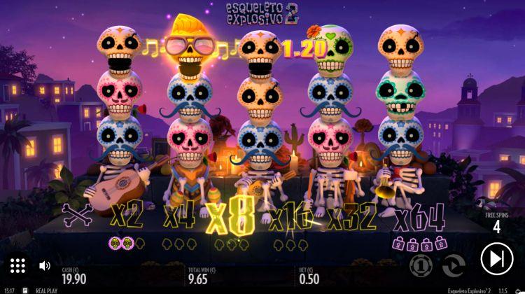 สล็อตออนไลน์ Esqueleto Explosivo