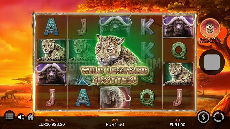 สล็อตออนไลน์ Savanna Roar