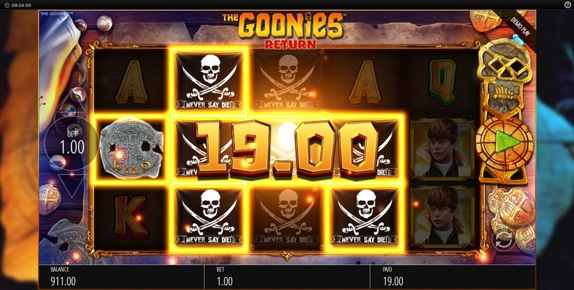 สล็อตออนไลน์ The Goonies Return